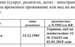 Заявление на рвп: правила заполнения бланка и подача в фмс в 2020 году