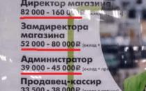 Размер зарплат в «пятерочке» в россии в 2020 году