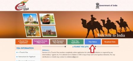 Как проверить готовность визы в Индию онлайн по номеру паспорта и заявки в 2020 году