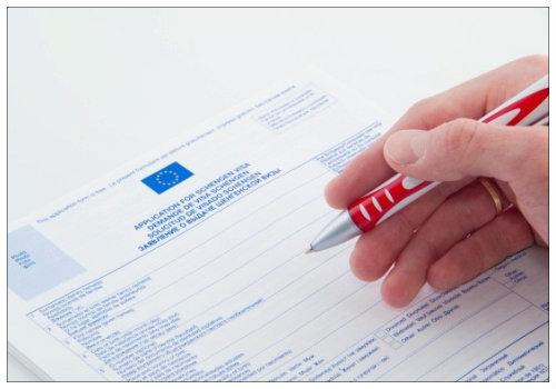 Образец заполнения анкеты на шенгенскую визу