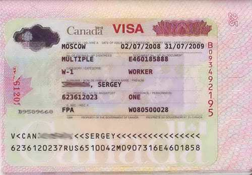Как получить визу в Канаду самостоятельно: туристическая и рабочая