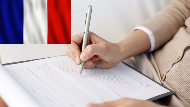 Анкета на визу во Францию в 2020 году: бланки, образец заполнения, перевод