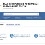 Проверка депортации иностранных граждан из РФ на сайте УФМС (ГУВМ МВД) в 2020 году