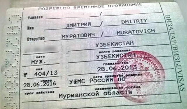 Сколько стоит РВП в РФ: госпошлина и другие расходы для граждан Украины, Узбекистана, Таджикистана