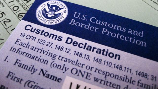 Миграционная карта США в 2020 году: где получить бланк | Образец заполнения