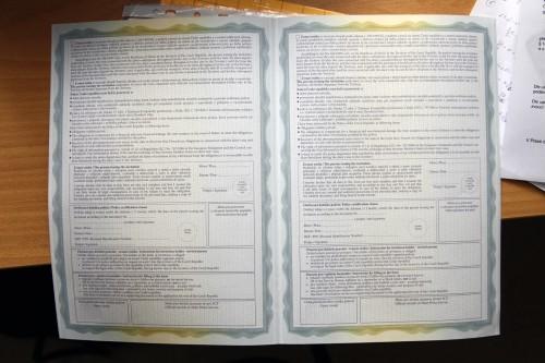 Гостевая виза в Чехию в 2020 году: образец оформления и список документов