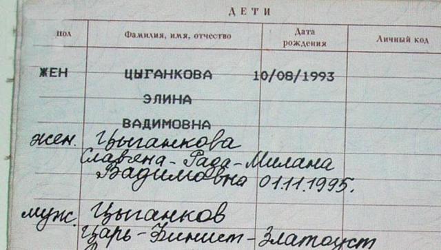 Как вписать ребенка в паспорт РФ?