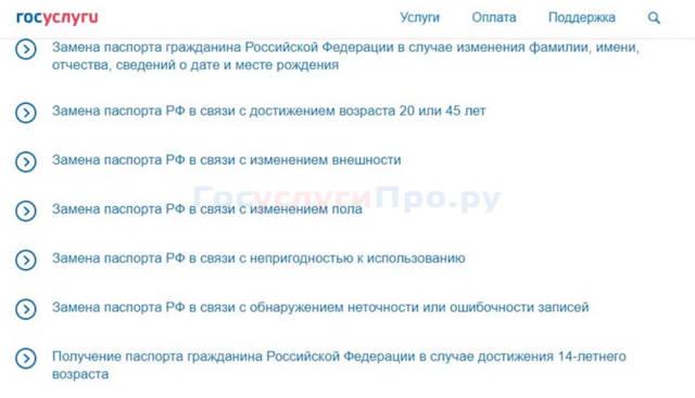 Реквизиты для оплаты госпошлины за паспорт РФ