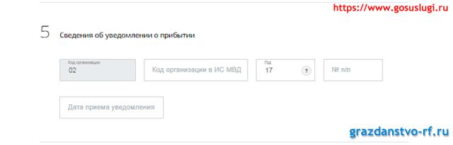 Бланк регистрации иностранного гражданина в России в 2020 году