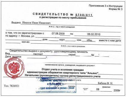 Сделать регистрацию в Москве для граждан Украины